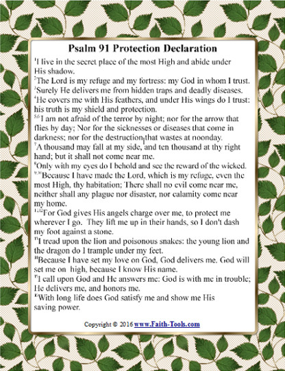 Psalm 91 Protection Preview